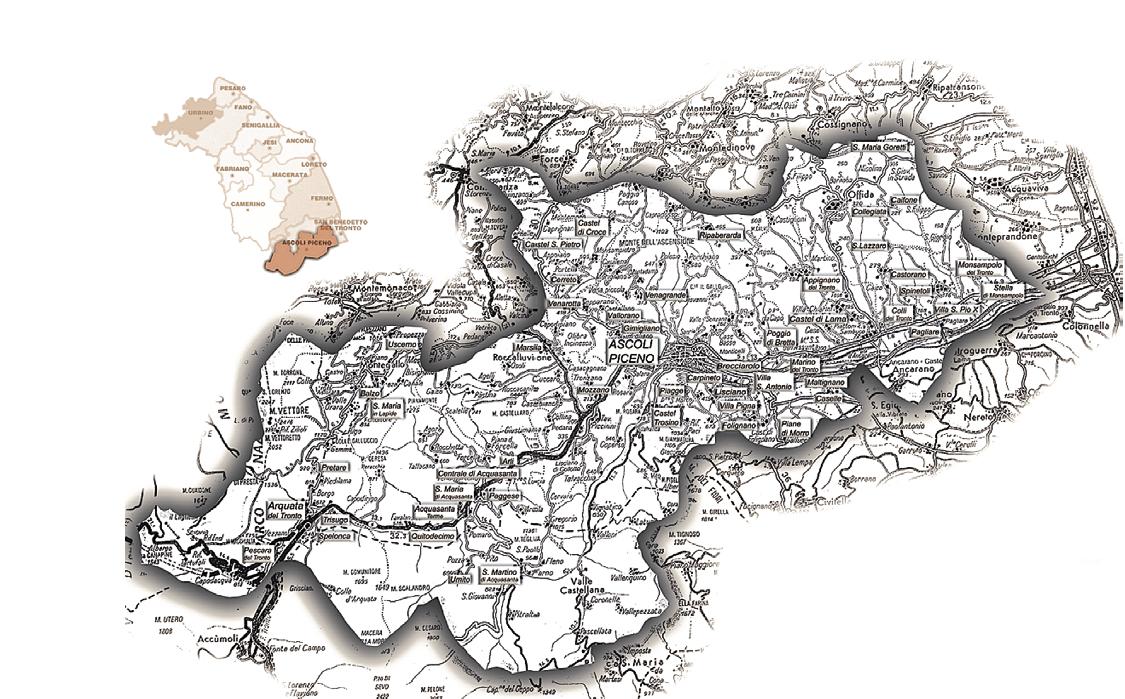 Diocesi Ascoli Piceno Cartina Storica