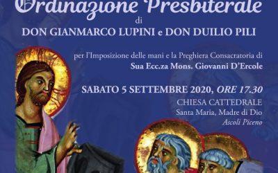 Ordinazione Sacerdotale Gianmarco Lupini e Duilio Pili