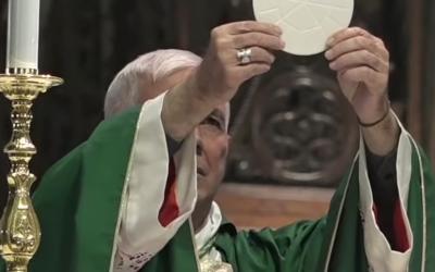 Santa Messa di saluto Vescovo Giovanni D'Ercole