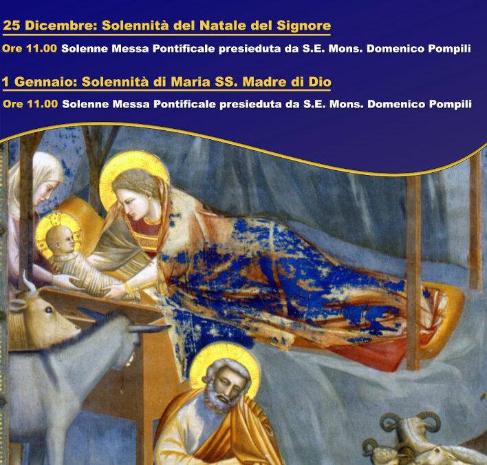 Celebrazioni di Natale del Vescovo Domenico