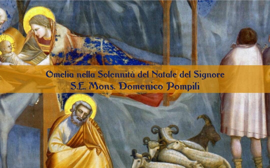 Omelie del Vescovo Domenico nella Solennità del Natale del Signore