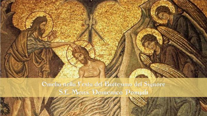 Omelia del Vescovo Domenico nella Festa del Battesimo del Signore