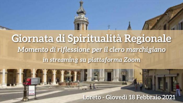 Giornata di Spiritualità Regionale 2021