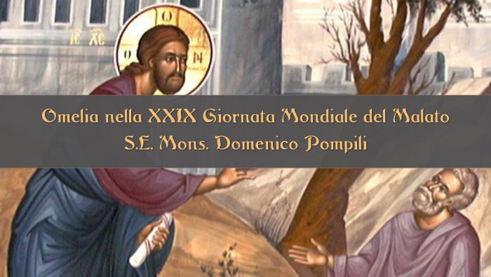 Omelia del Vescovo Domenico nella Giornata del Malato