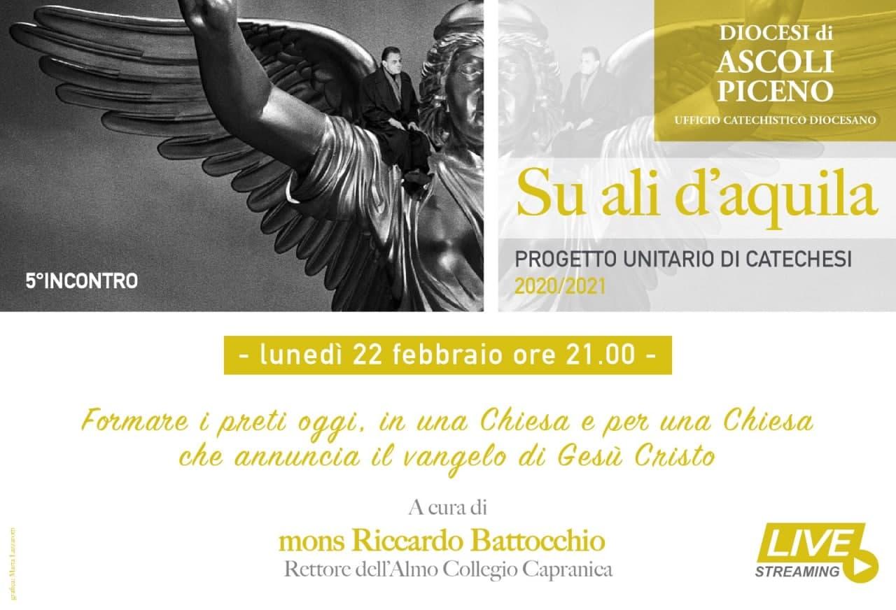 """Su Ali d'Aquila """"Formare i preti oggi"""""""