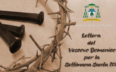 Lettera del Vescovo Domenico Settimana Santa