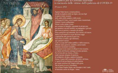 Preghiera per la Giornata nazionale in memoria delle vittime del Covid-19