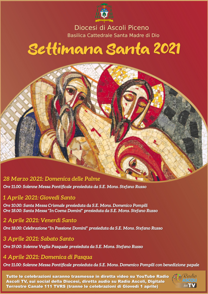 Settimana Santa 2021 - Locandina