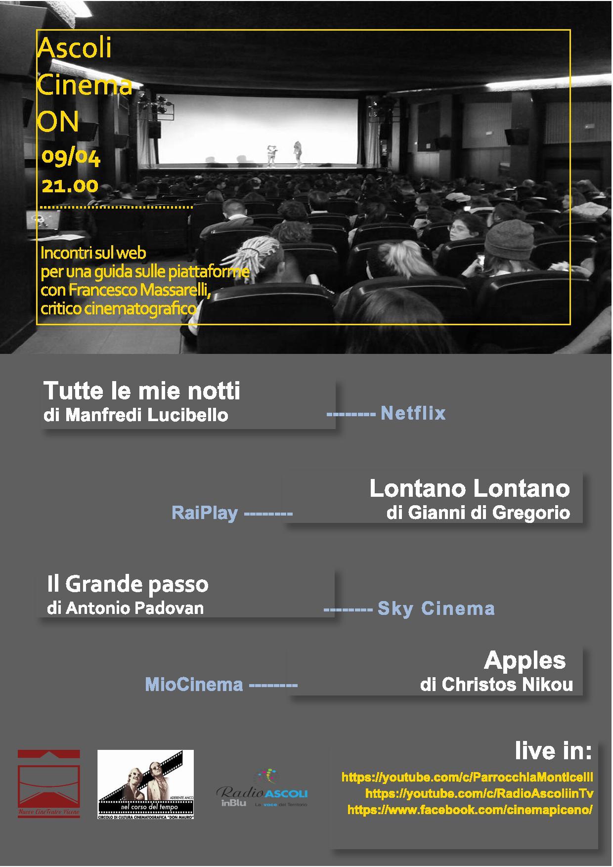 Secondo Appuntamento Ascoli Cinema On - Locandina