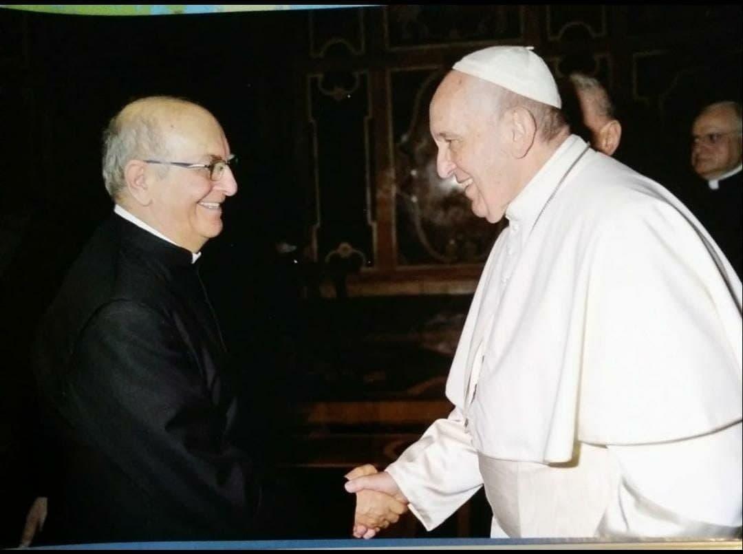 Don Giuseppe Maria Bachetti e Papa Francesco