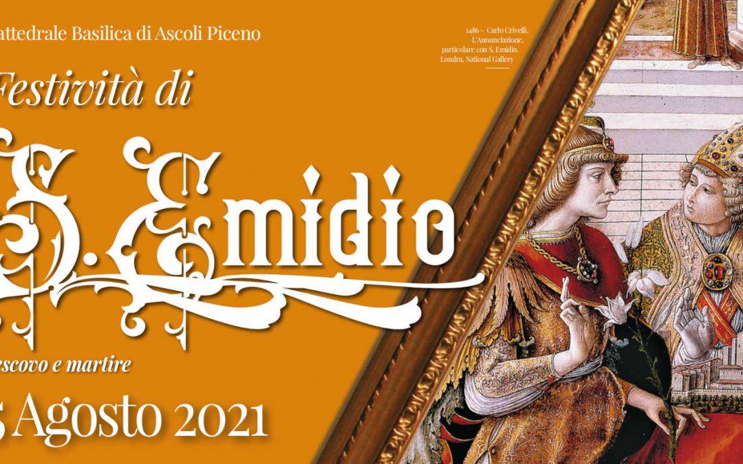 Solennità di Sant'Emidio: il programma 2021