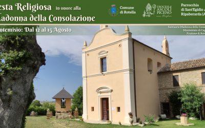 Montemisio: Festa alla Madonna della Consolazione