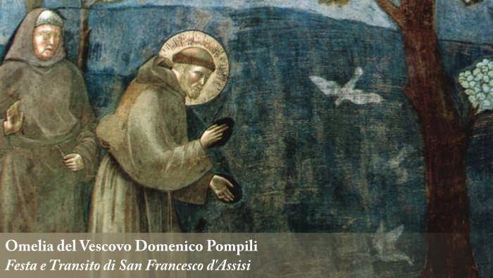 Festa di San Francesco: omelia del Vescovo